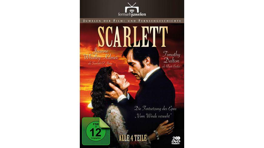 Scarlett Teil 1 4 2 DVDs