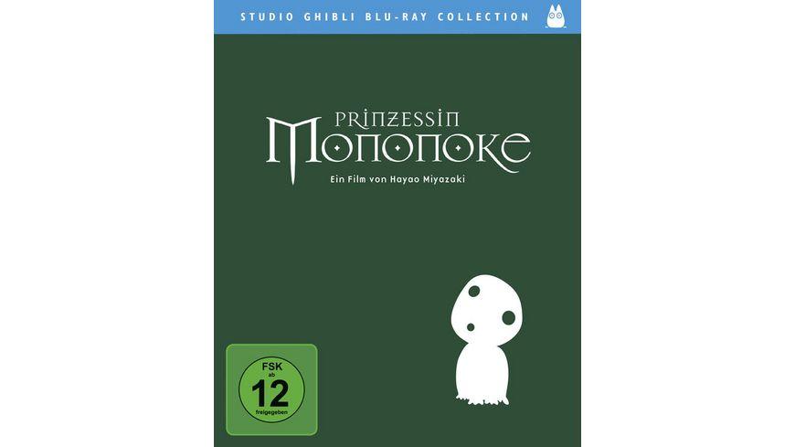 Prinzessin Mononoke Studio Ghibli Blu Ray Collection