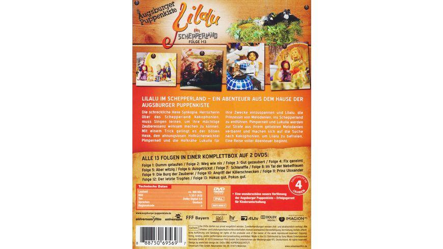Lilalu im Schepperland 1 13 Augsburger Puppenkiste 2 DVDs