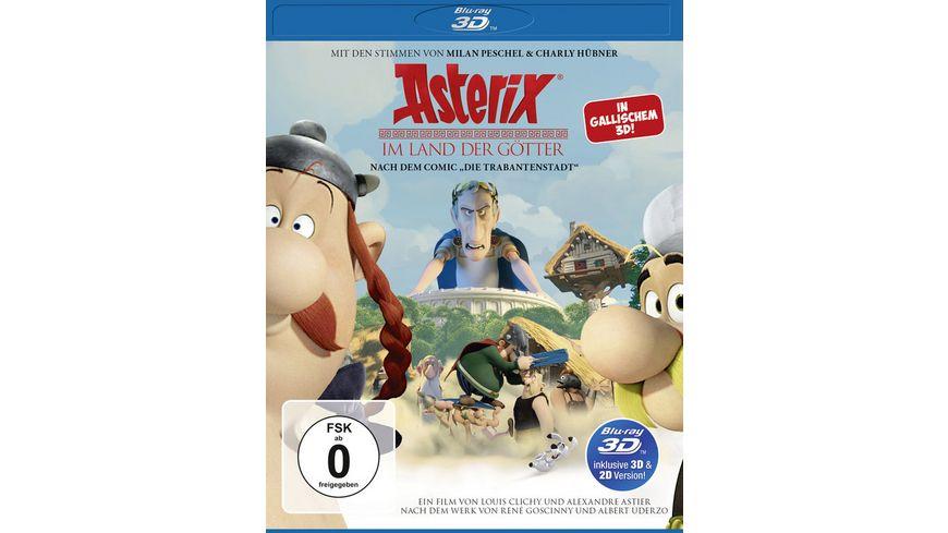 Asterix im Land der Goetter inkl 2D Version