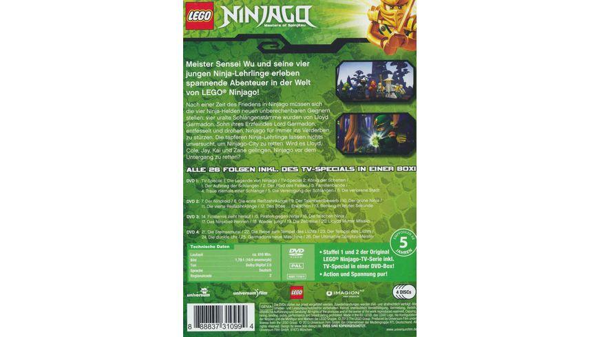 LEGO Ninjago DVD Box 4 DVDs