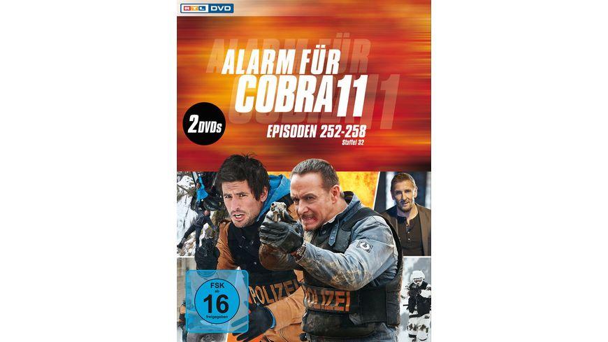Alarm fuer Cobra 11 Staffel 32 2 DVDs
