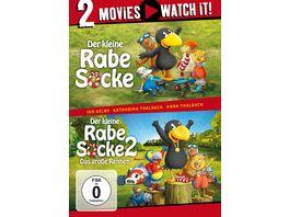 Der kleine Rabe Socke 1 2 2 DVDs