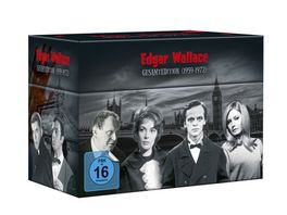 Edgar Wallace Gesamtedition 1959 1972 33 DVDs