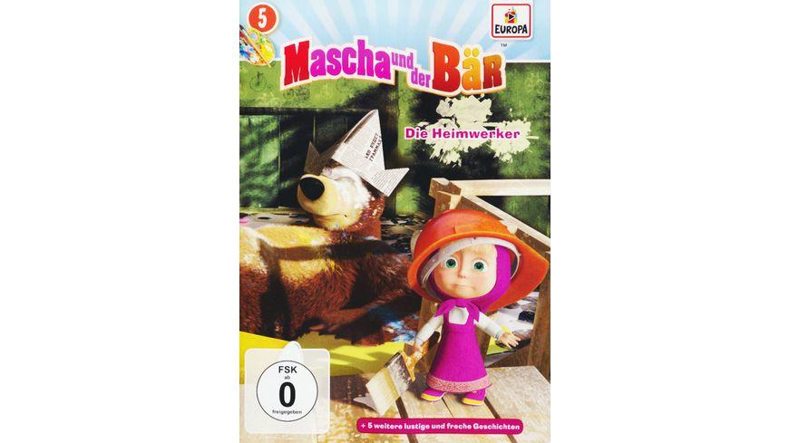 Mascha und der Baer 5 Die Heimwerker