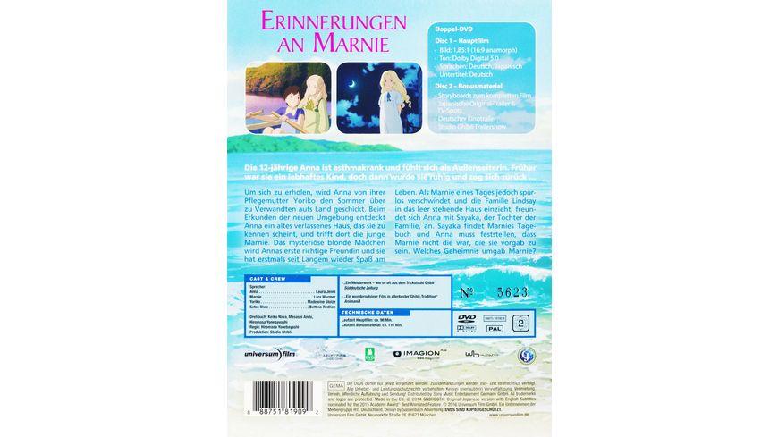 Erinnerungen an Marnie SE 2 DVDs