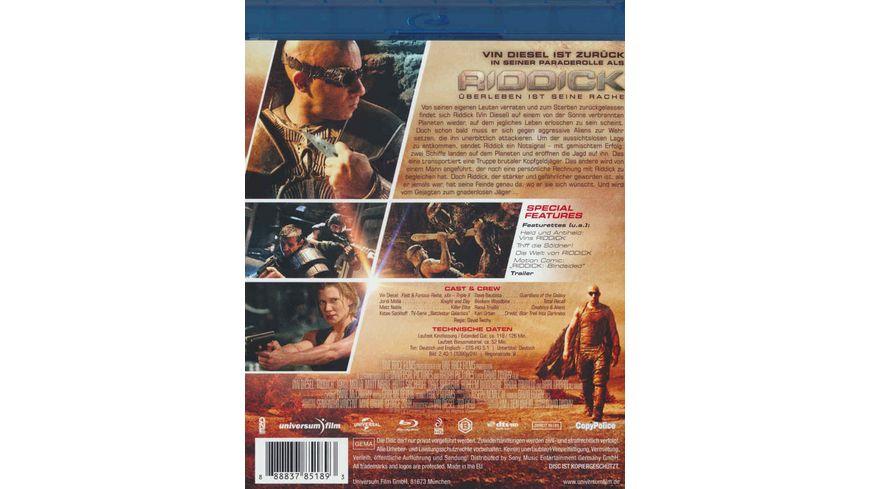 Riddick Ueberleben ist seine Rache Extended Cut