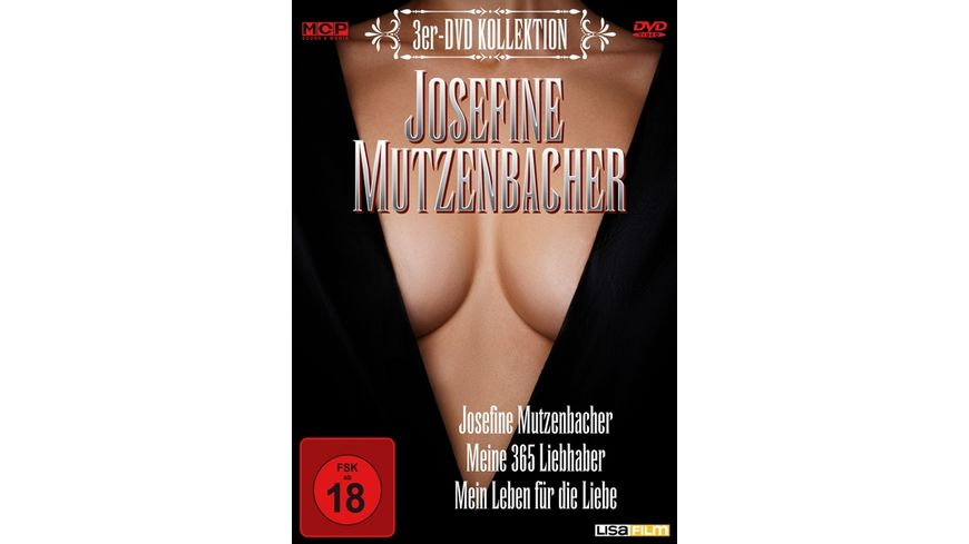 Josefine Mutzenbacher Kollektion 3 DVDs