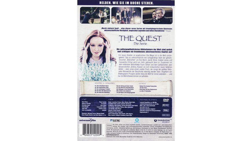 The Quest Die Serie Staffel 2 2 DVDs