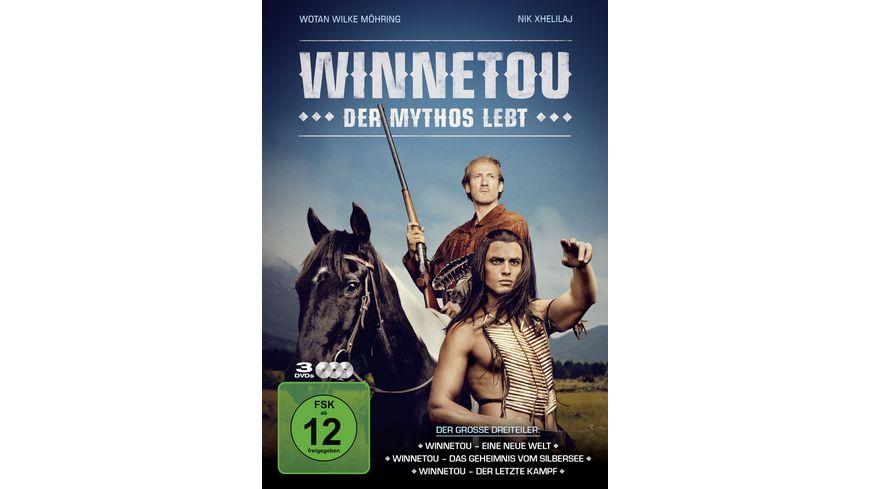 Winnetou Der Mythos lebt 3 DVDs