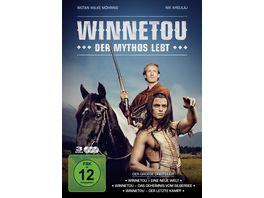 Winnetou Der Mythos lebt 3 DVDs