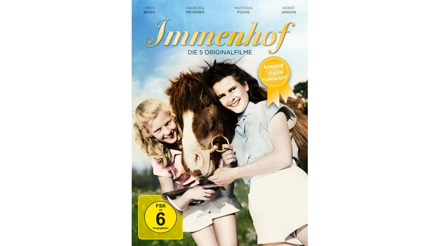 Immenhof Die 5 Originalfilme Remastered 3 DVDs