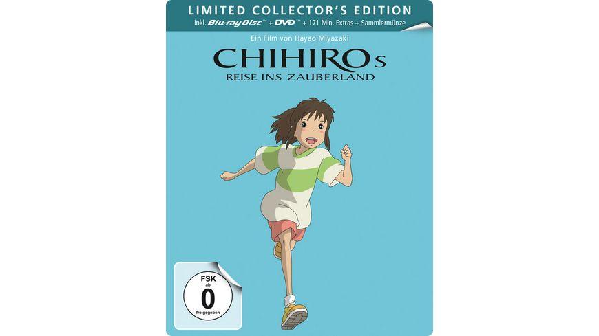 Chihiros Reise ins Zauberland Steelbook LE DVD