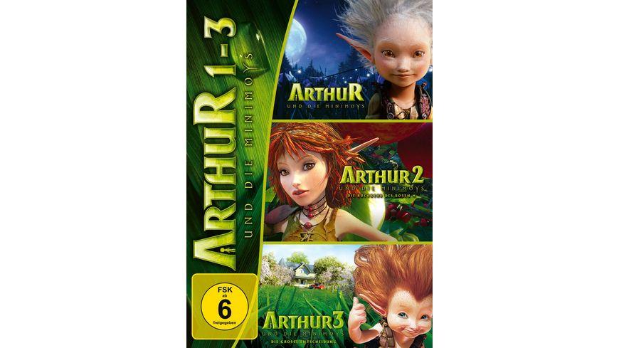 Arthur und die Minimoys 1 3 3 DVDs