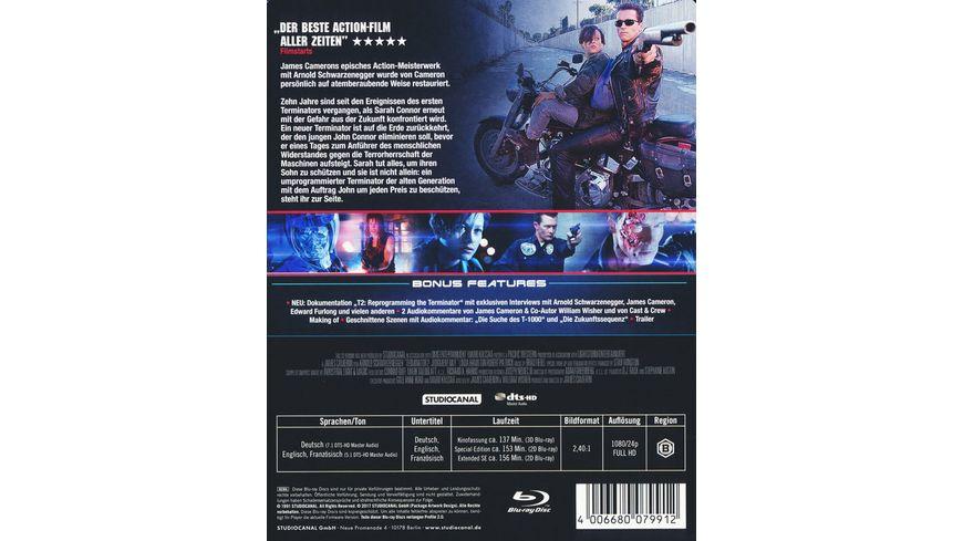 Terminator 2 Steelbook Blu ray 2D SE