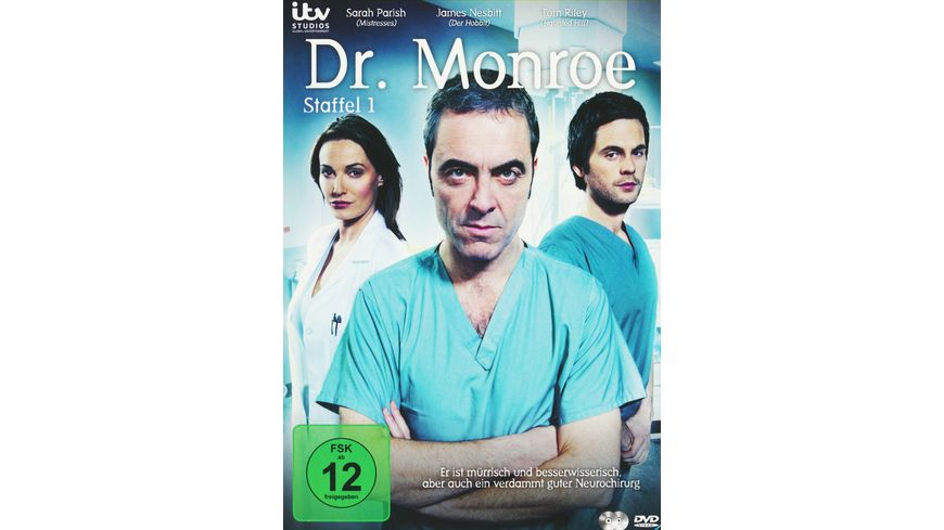 Dr Monroe Staffel 1 2 DVDs