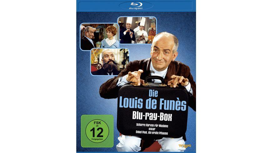 Louis de Funes Box 3 BRs