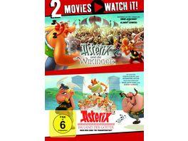 Asterix und die Wikinger Asterix im Land der Goetter 2 DVDs