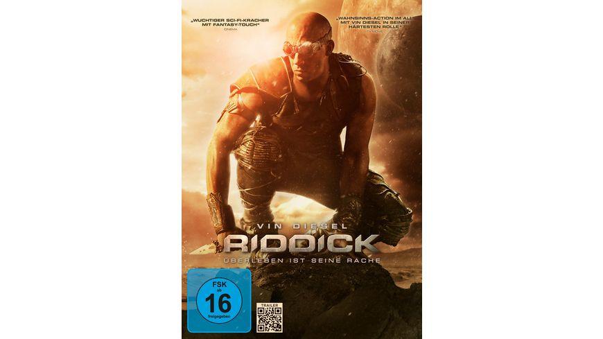 Riddick Ueberleben ist seine Rache