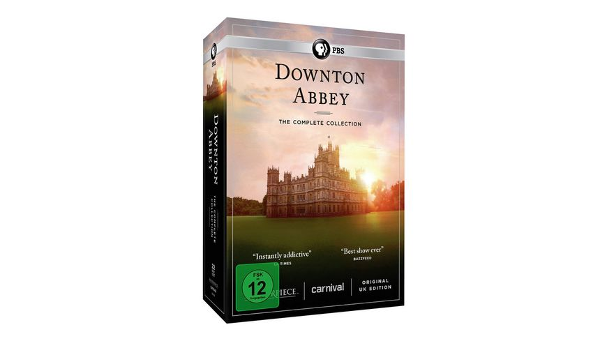 Downton Abbey Die komplette Serie 23 DVDs 3 Bonus DVDs