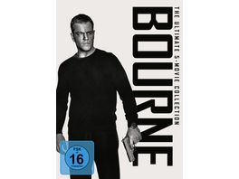 Bourne The Ultimate 5 Movie Collection 5 DVDs