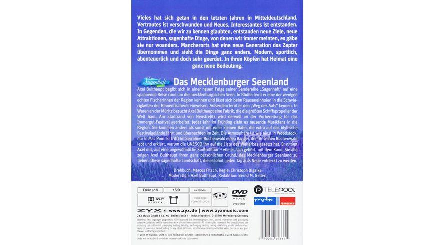 Das Mecklenburger Seenland Sagenhaft