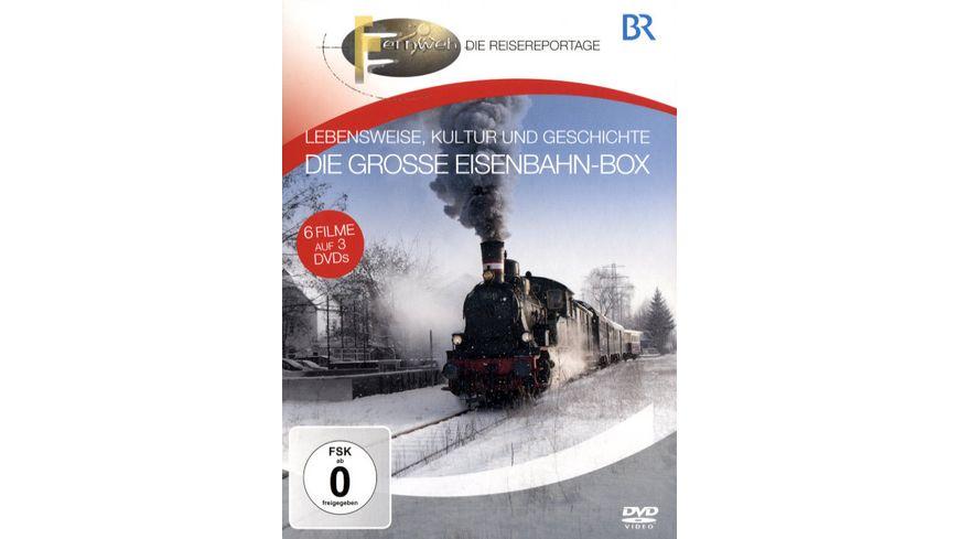 Die grosse Eisenbahn Box Lebensweise Kultur und Geschichte