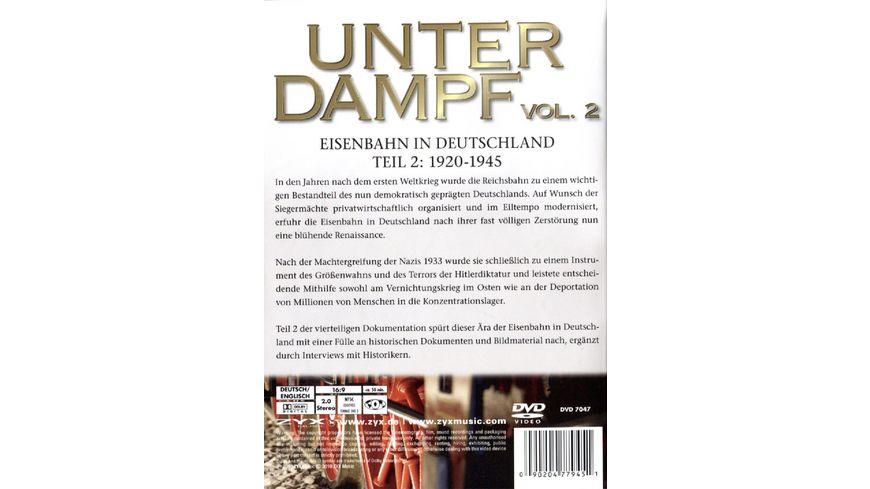 Unter Dampf Eisenbahn in Deutschland Teil 2 1920 1945