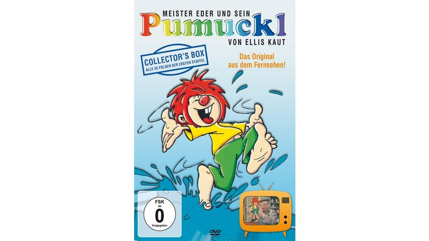 Pumuckl Meister Eder und sein Pumuckl Staffel 1 Collector s Box 4 DVDs