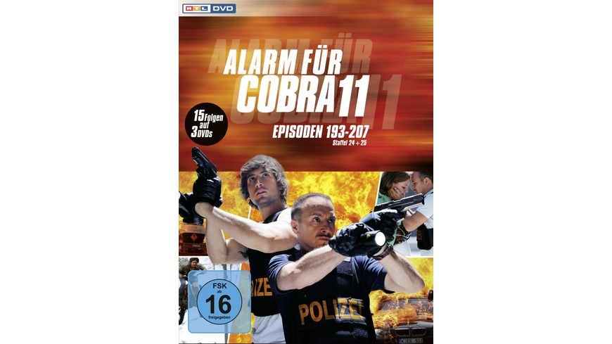 Alarm fuer Cobra 11 Staffel 24 25 3 DVDs