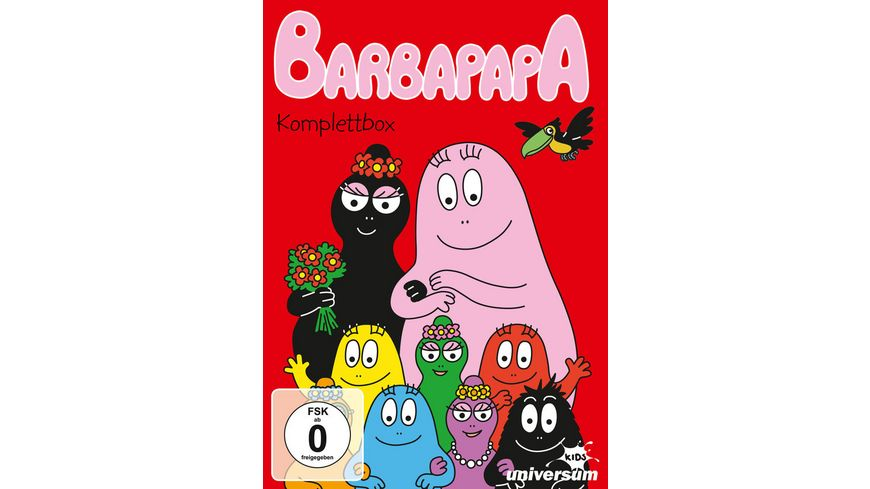 Barbapapa Komplettbox 6 DVDs