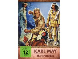 Karl May Shatterhand Box 2 DVDs