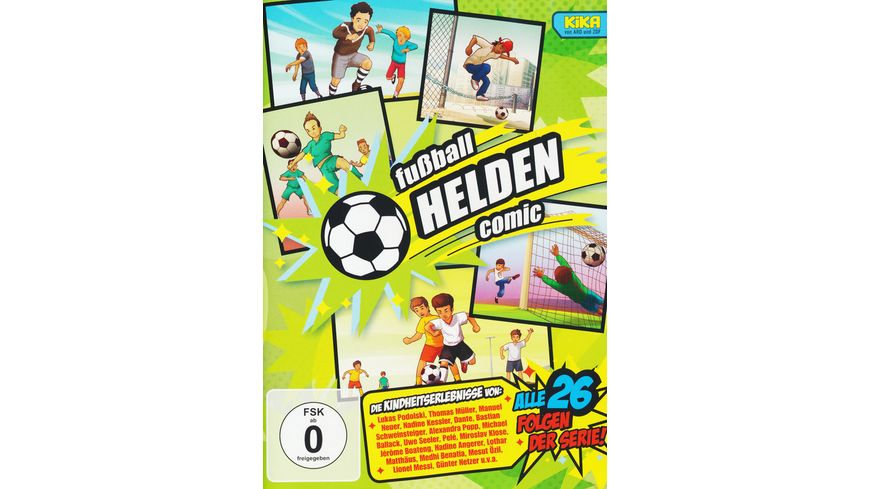 Fussball Helden Comic