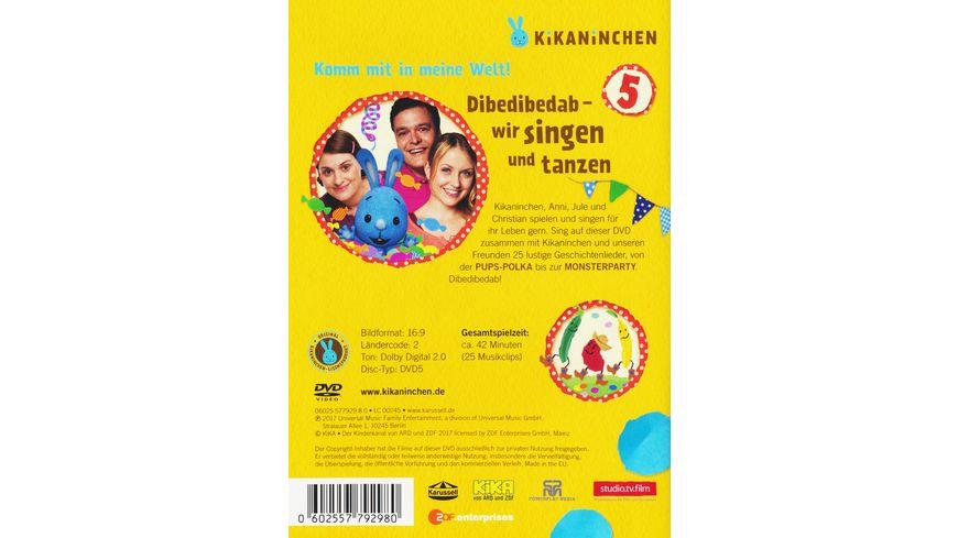 Kikaninchen 5 Dibedibedab Wir singen und tanzen