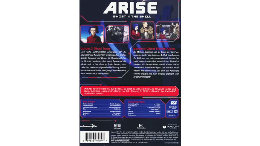 Ghost in the Shell ARISE border 3 4