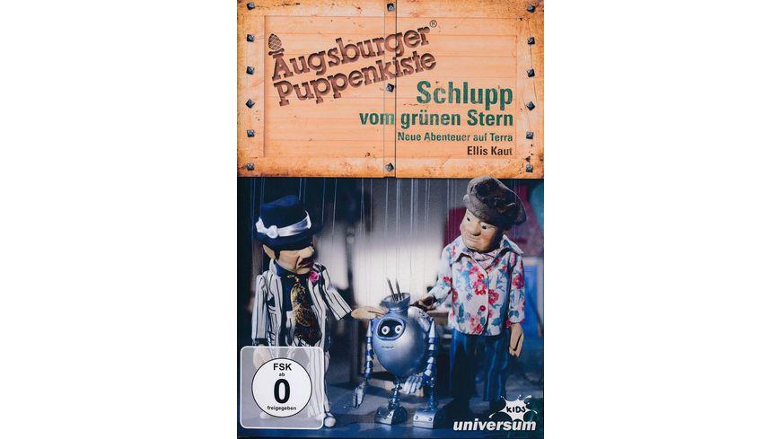 Schlupp vom gruenen Stern Neue Abenteuer auf Terra Augsburger Puppenkiste