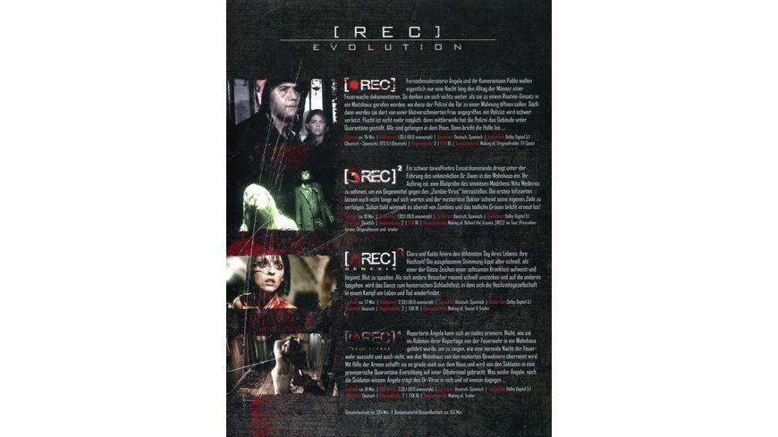Rec Evolution 4 DVDs
