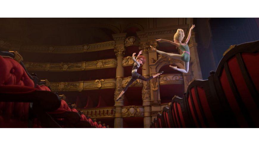 Ballerina Gib deinen Traum niemals auf