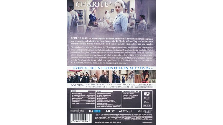 Charite Staffel 1 2 DVDs