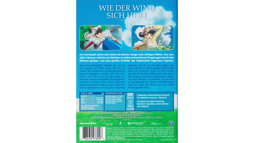 Wie der Wind sich hebt