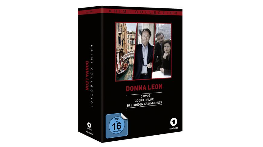 Donna Leon Collection Filme 1 20 10 DVDs