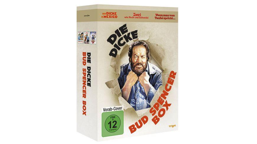 Die dicke Bud Spencer Box 3 DVDs