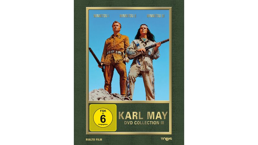 Karl May Collection 3 LE 3 DVDs