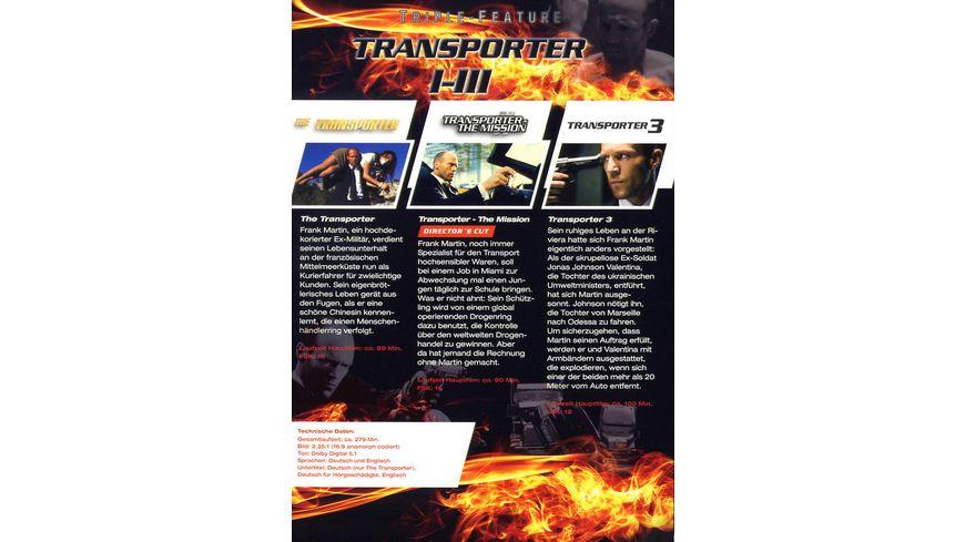 Transporter 1 3 Triple Feature 3 DVDs