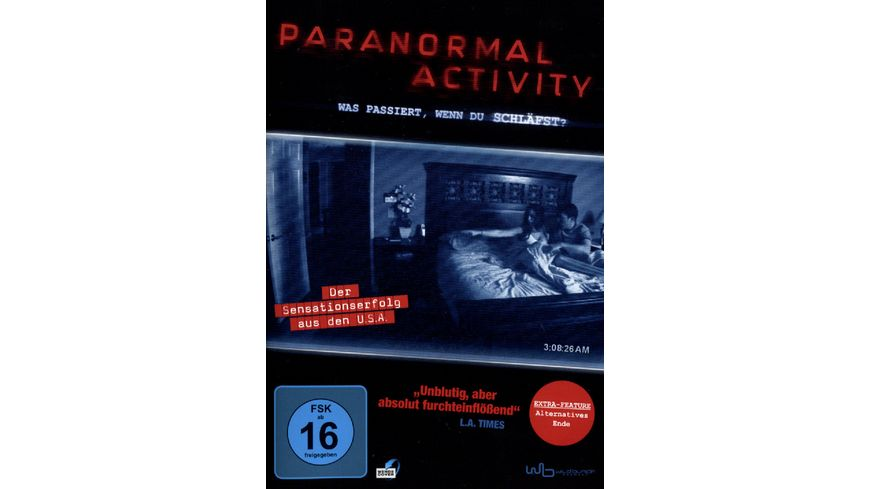 Paranormal Activity Amaray