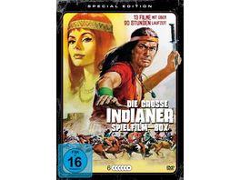 Die grosse Indianer Spielfilm Box 6 DVDs