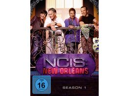 NCIS New Orleans Season 1 6 DVDs