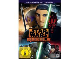 Star Wars Rebels Die komplette dritte Staffel 4 DVDs