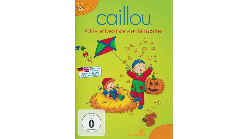 Caillou entdeckt die vier Jahreszeiten