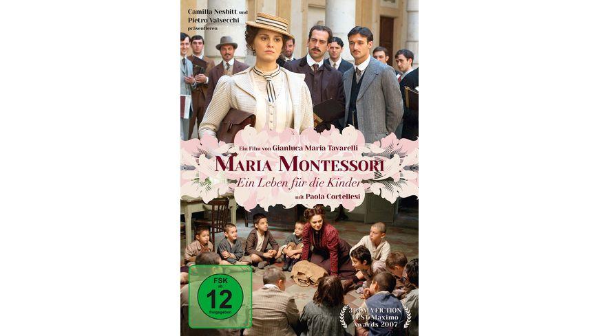 Maria Montessori Ein Leben fuer die Kinder 2 DVDs